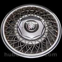 1989-1992 Buick wire spoke hubcap 15""