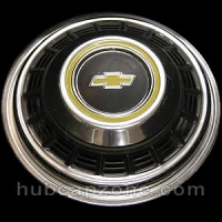 1979-1991 Front Chevy hubcap, 16""