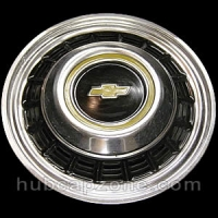 1979-1989 Rear Chevy hubcap, 16""