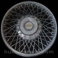 1983-1985 Chevy Celebrity wire spoke hubcap 14""