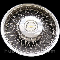 1986-1989 Chevy Celebrity wire spoke hubcap 14""
