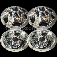"2008-2010 GM 17"" wheel liners and replica center caps. #22769470 9597334"