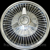 1965-1966 Chevy wire spoke spinner hubcap 14""