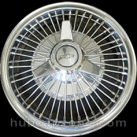 1964-1966 Chevy II, Corvair wire spoke spinner hubcap 13""