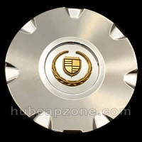 Chrome/Gold replica 2004-2008 Cadillac CTS, STS center cap