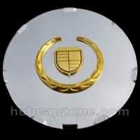 Chrome/Gold replica 2008-2009 Cadillac CTS, STS center cap
