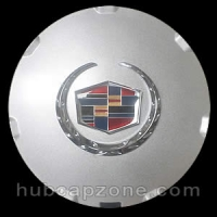 Silver replica 2008-2009 Cadillac CTS, STS center cap
