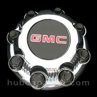 Chrome 1999-2012 GMC center cap 8 lugs SRW