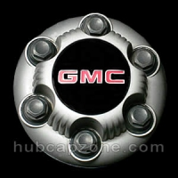 Silver 1999-2012 GMC center cap 6 lugs