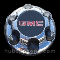 Chrome 1999-2012 GMC center cap 6 lugs