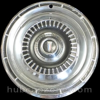 "1965 Plymouth hubcap 14"" without spinner"