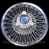 1965-1967 Ford Mustang, Fairlane wire spoke hubcap 14""