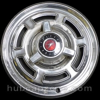 1965-1966 Ford Falcon spinner hubcap 14""
