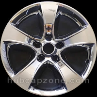 "Chrome 17"" Dodge Charger wheel skins, 2008-2014"