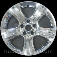 "Chrome 17"" Dodge Charger wheel skins, 2015-2021"