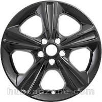 "Black 17"" Ford Escape wheel skins, 2013-2019"