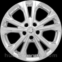"Chrome 17"" Ford Escape wheel skins, 2017-2019"