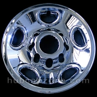 "Chrome 16"" 8 lug Chevy/GMC wheel skins, 1999-2012"