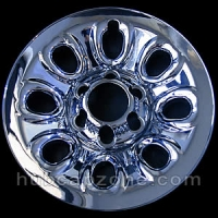 "Chrome 17"" 6 lug Chevy/GMC wheel skins, 2004-2014"