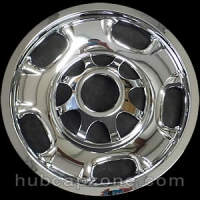 "Chrome 17"" 8 lug Chevy/GMC wheel skins, 2011-2019"
