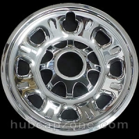 "Chrome 18"" 8 lug Chevy/GMC wheel skins, 2011-2019"