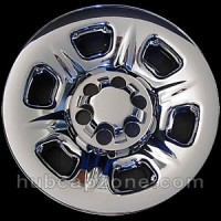 "Chrome 15"" Nissan Frontier wheel skins, 2005-2020"