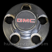 Black 1993-1998 GMC center cap 5 lug wheel