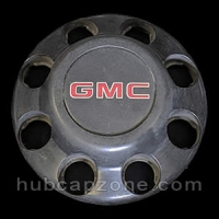 Black 1993-1998 GMC center cap 8 lug wheel