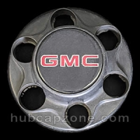 Black 1993-1998 GMC center cap 6 lug wheel