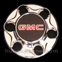 Chrome 1993-1998 GMC center cap 6 lug wheel