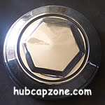 Chrysler wire hubcap center emblem