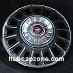Ford Mustang hubcap